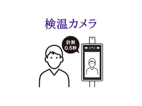 検温カメラ、顔認証&体温測定 IMPで取り扱いはじめました!
